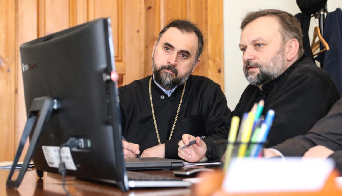 Руководство училища приняло участие в онлайн-семинаре, посвященном вопросам организации образовательного процесса в духовных учебных заведениях Республики Беларусь