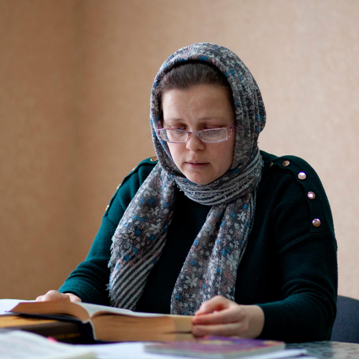Богослужебный устав, Практикум чтения