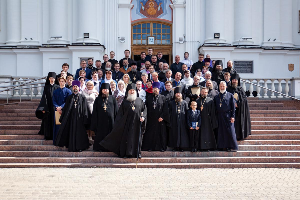 Директор училища принял участие в мероприятиях по случаю выпускного акта в Витебской духовной семинарии